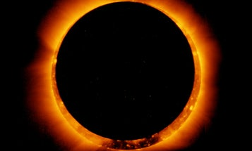 You may be able to spot a 'ring of fire' eclipse this weekend