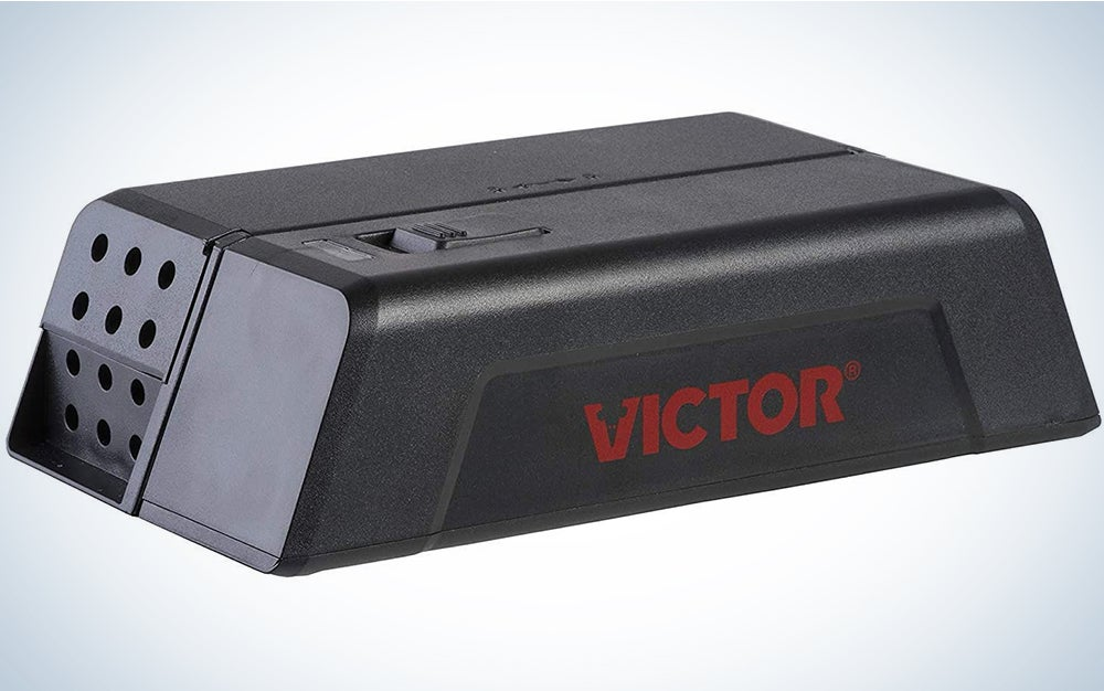 Victor M250S No Touch, No See Upgraded Indoor Electronic Mouse Trap