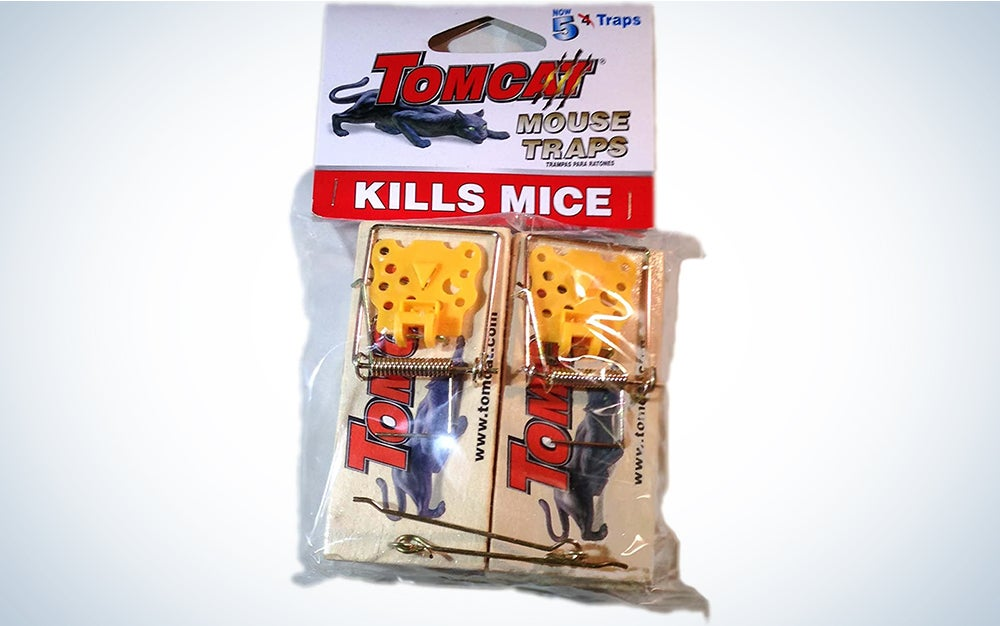 Tomcat Wooden Mouse Traps
