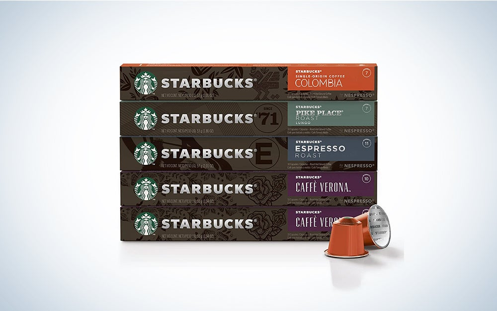 Starbucks by Nespresso, Intense Variety Pack