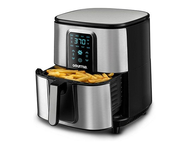Gourmia® GAF735 7-Qt Stainless Steel Digital Air Fryer