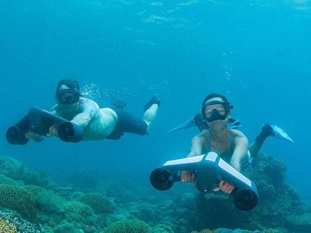 Underwater scooter deals