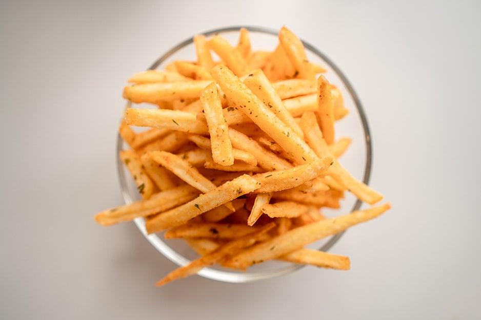 bowl of fries