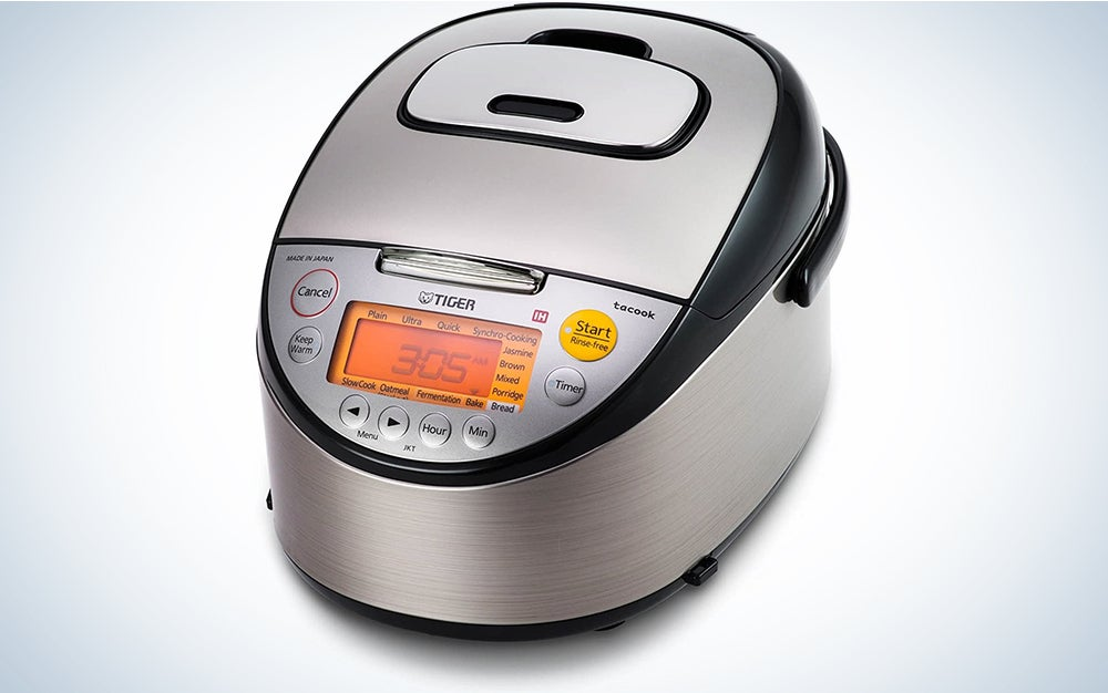Tiger JKT-S10U-K IH Rice Cooker with Slow Cooking and Bread Making Function