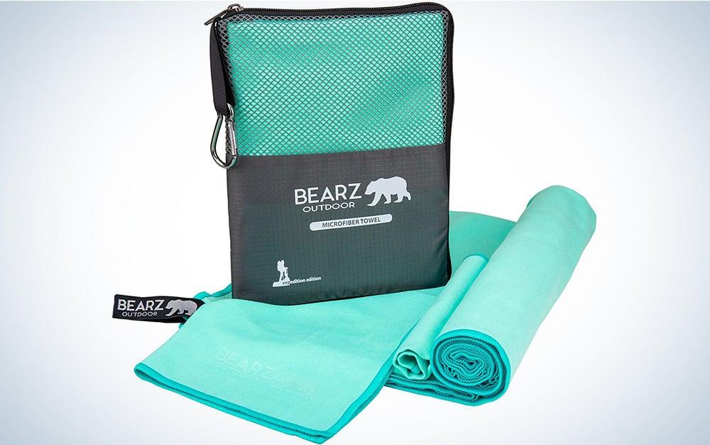 Bearz Outdoor Microfiber Towel Set