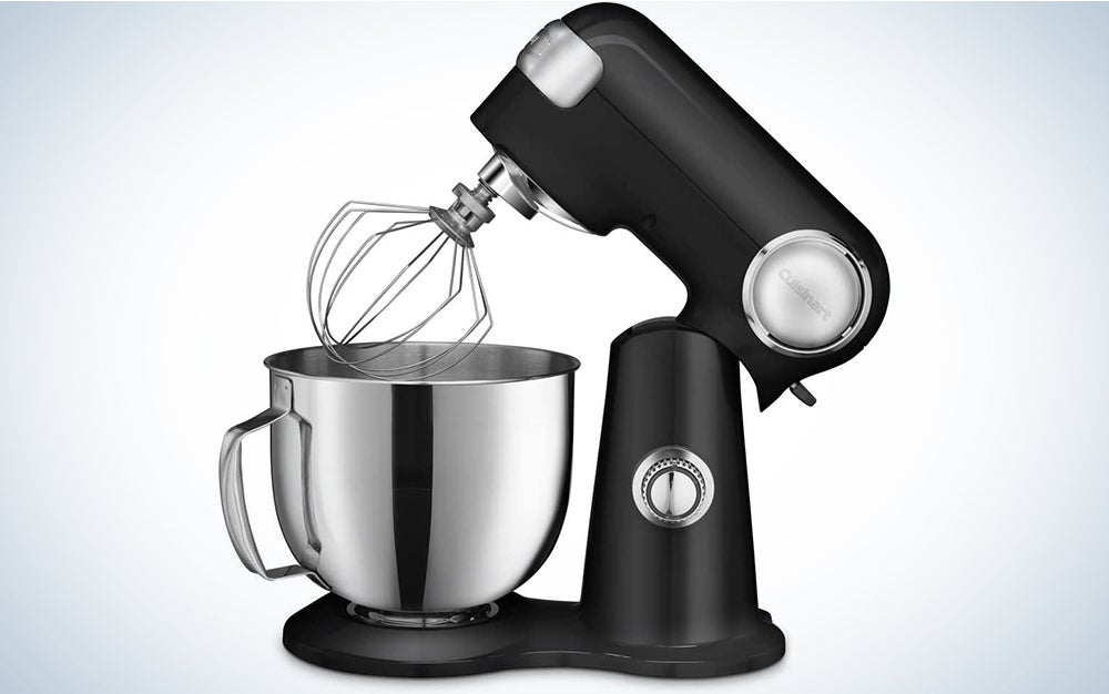Cuisinart SM-50BC 5.5-Quart Stand Mixer, Brushed Chrome