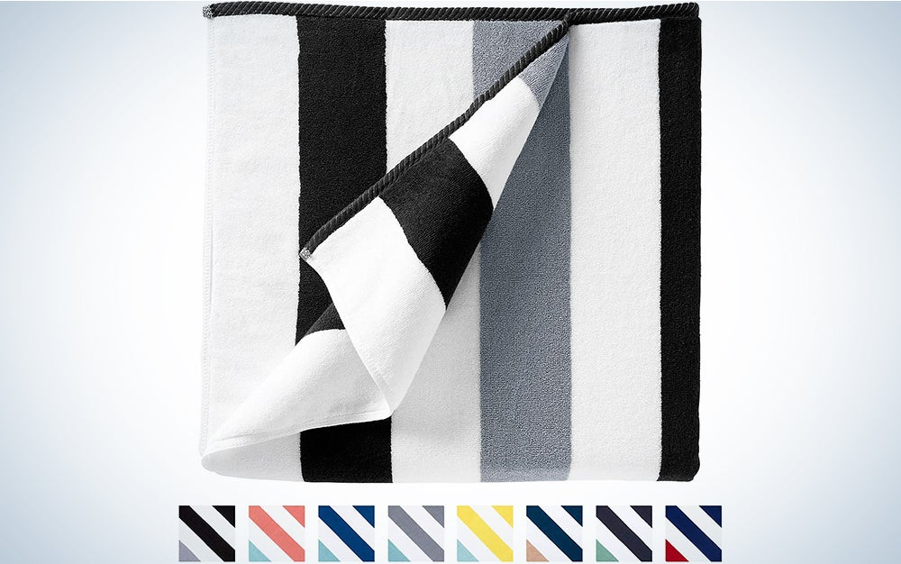 Oversize Plush Cabana Towel by Laguna Beach Textile Co