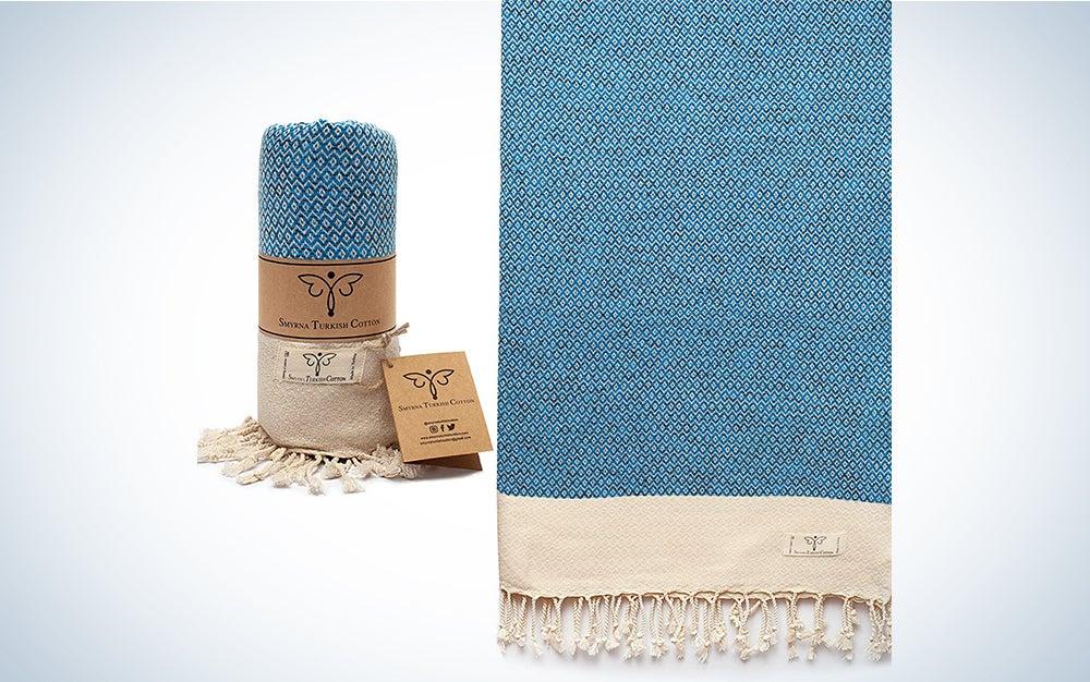 Smyrna Vintage Series Original Turkish Beach Towel