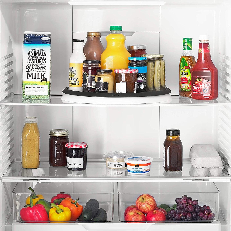 food in a fridge