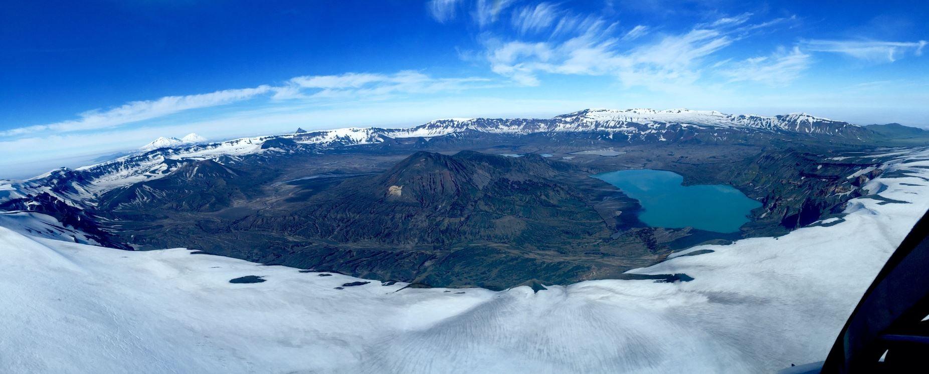 massive caldera