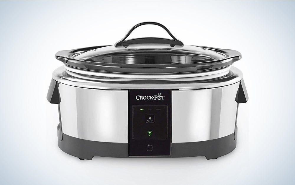 Crock-pot 2101704 6 Quart Slow Cooker Works with Alexa