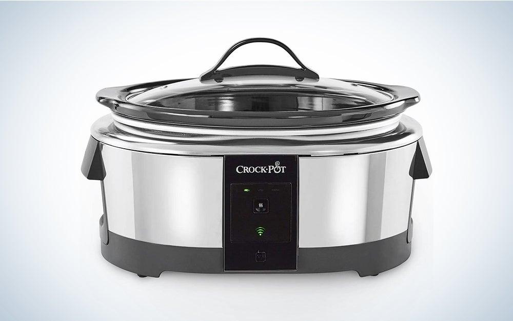 Crock-pot 2101704 6 Quart Slow Cooker Works with Alexa