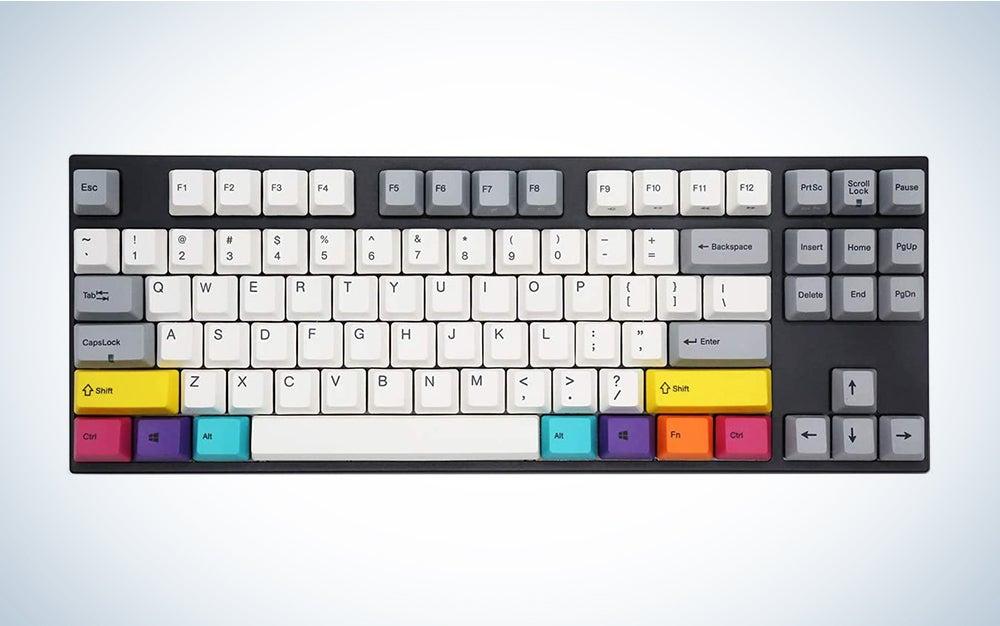 Varmilo VA87M CMPYO White LED TKL Dye Sub PBT Mechanical Keyboard