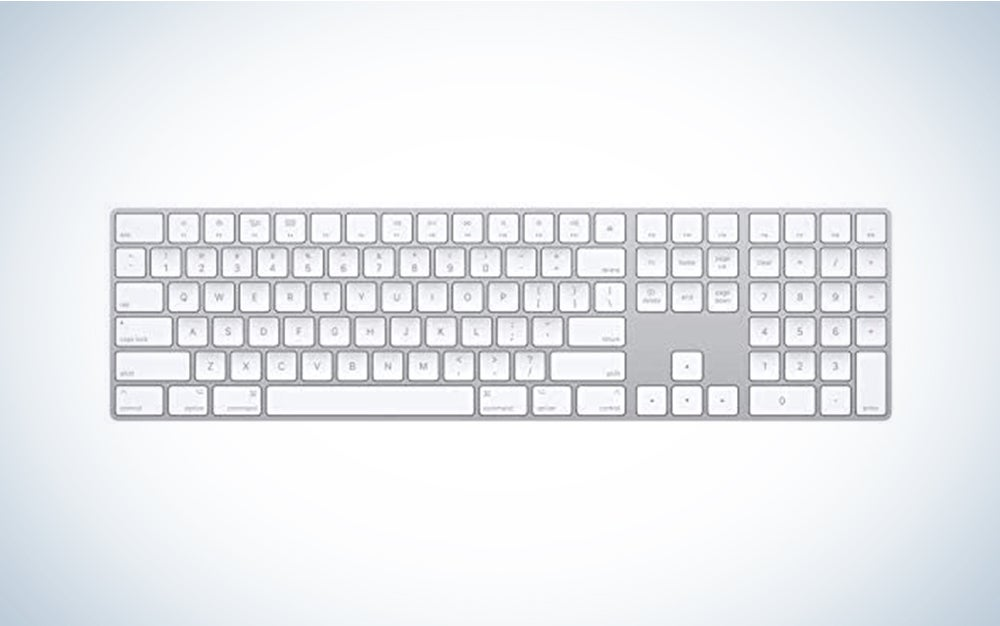 Apple Magic Keyboard with Numeric Keypad (Wireless, Rechargable)