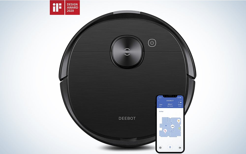 ECOVACS DEEBOT OZMO T5 2-in-1 Robot Vacuum & Mop with Precision Laser Mapping & Navigation