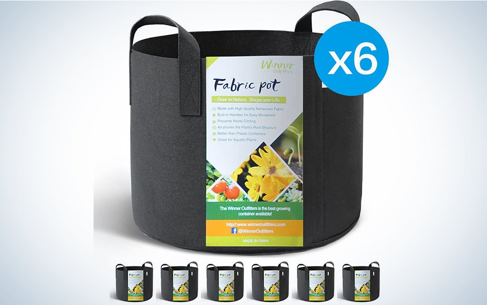 Winner Outfitters 6-Pack 5 Gallon Grow Bags