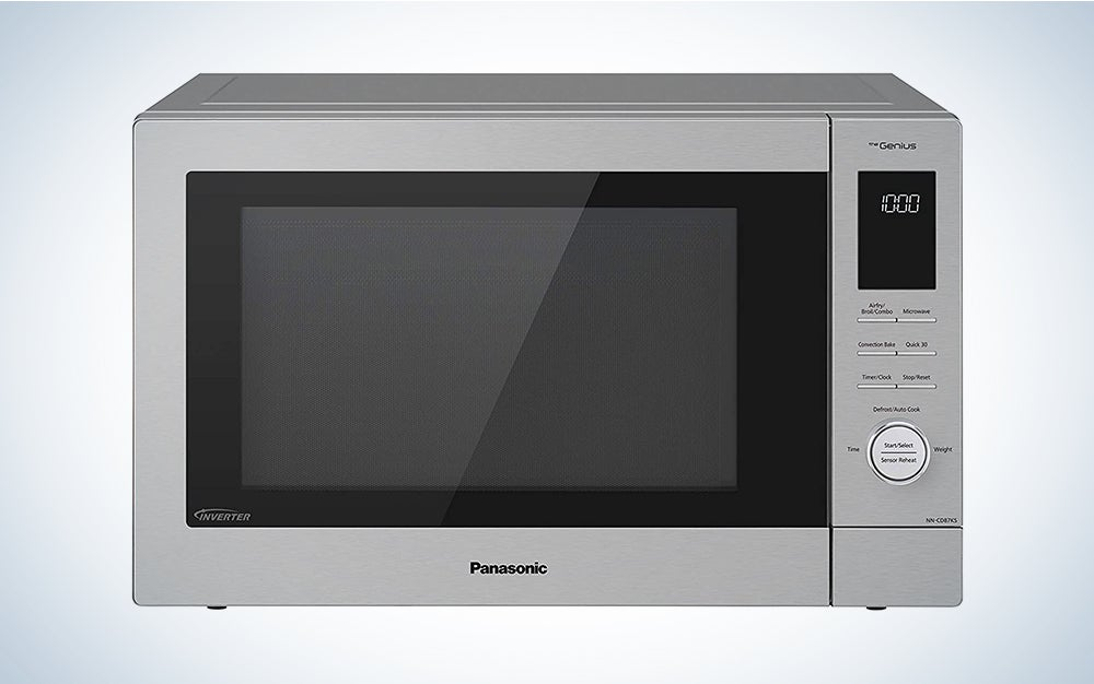 Panasonic Countertop / Built-In Microwave Oven with Cyclonic Wave Inverter Technology and 1250W of Cooking Power