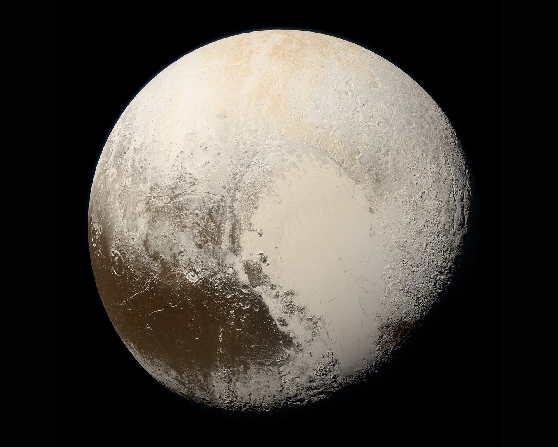 NASA photo of Pluto