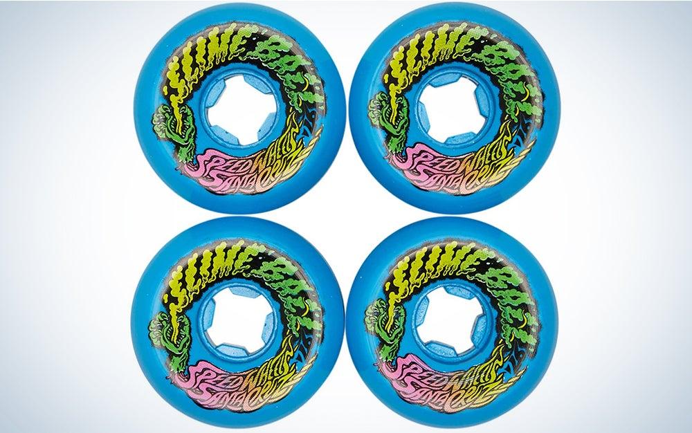 Slime Balls Santa Cruz Skateboard Wheels 60mm Goooberz Vomits 97A Mix Up