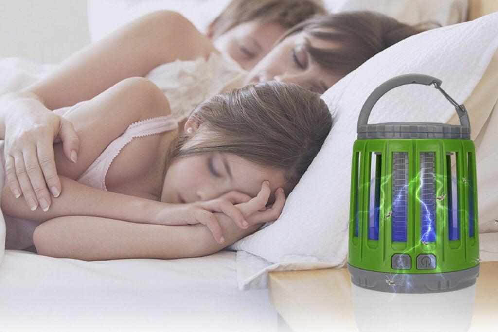3-in-1 Waterproof Bug Zapper Lantern