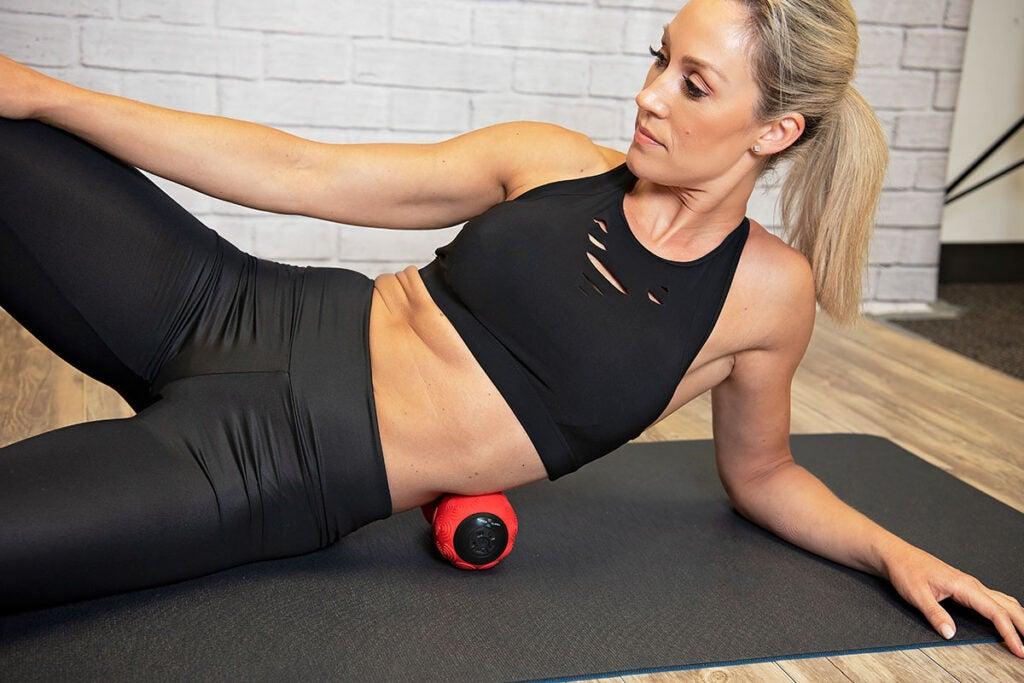 Power Plate® DualSphere: Targeted Vibration Massager