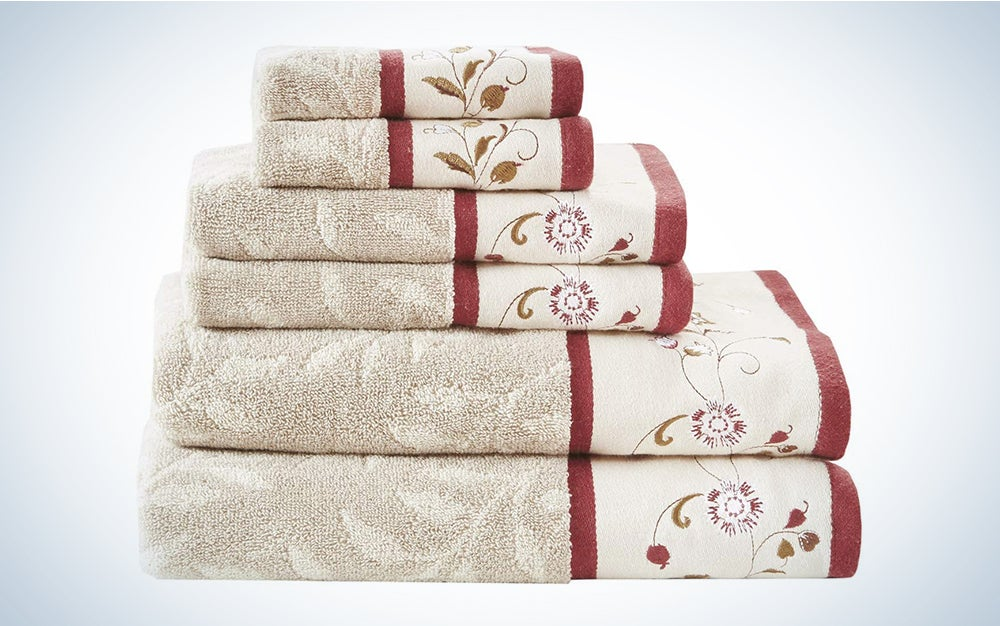 Madison Park Serene Towel Set