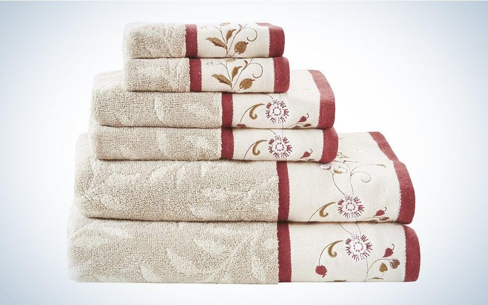 Madison Park Serene Towel Set