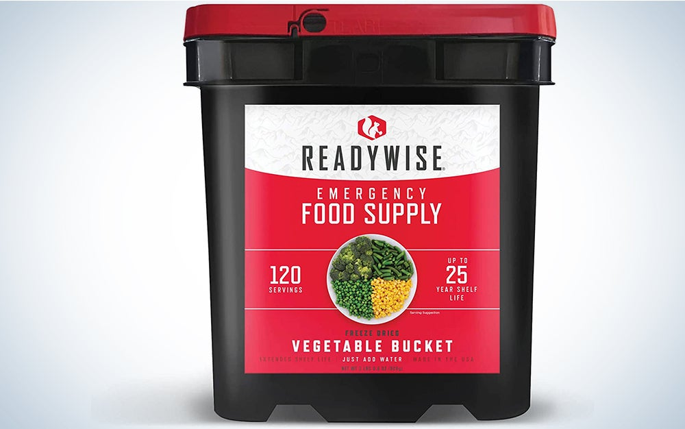 ReadyWise, Emergency Food Supply Freeze Dried Vegetables
