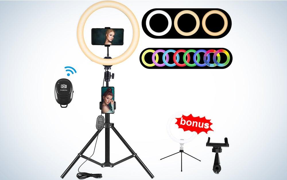 10.2-Inch RGB Selfie Ring Light