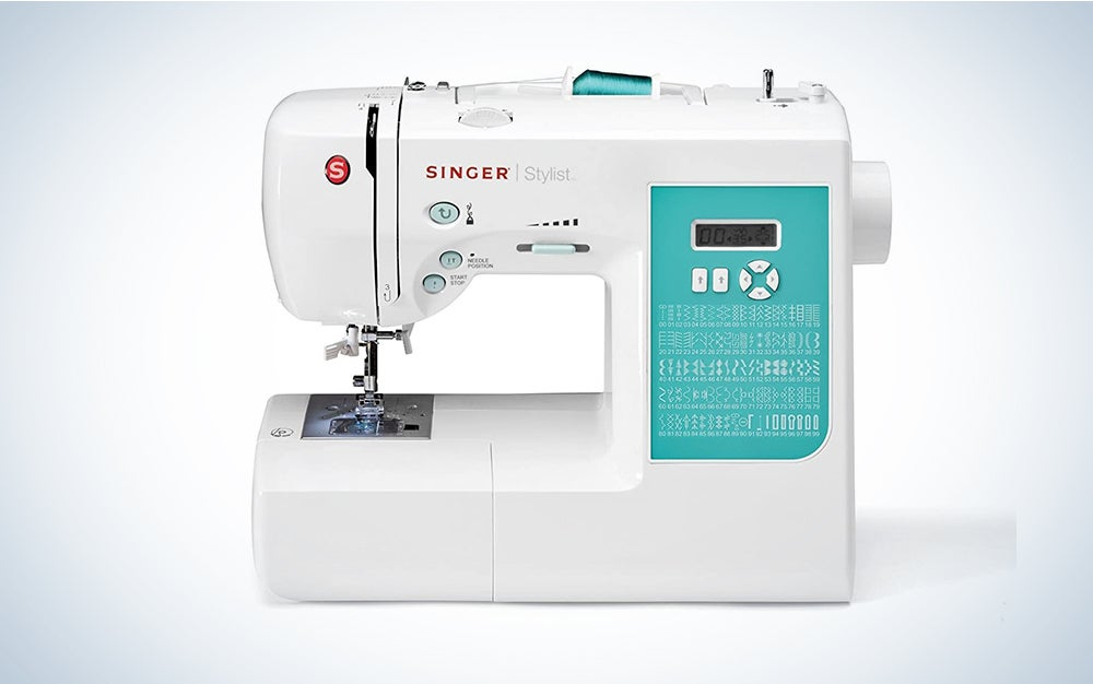SINGER Stylist 7258 Computerized Sewing Machine with 203 Stitch Applications, & Black Carrying Case