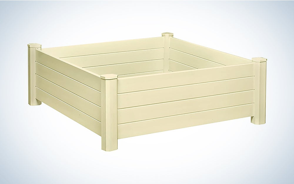 NuVue Products Raised 48 by 48 by 15-Inch Garden Box Kit