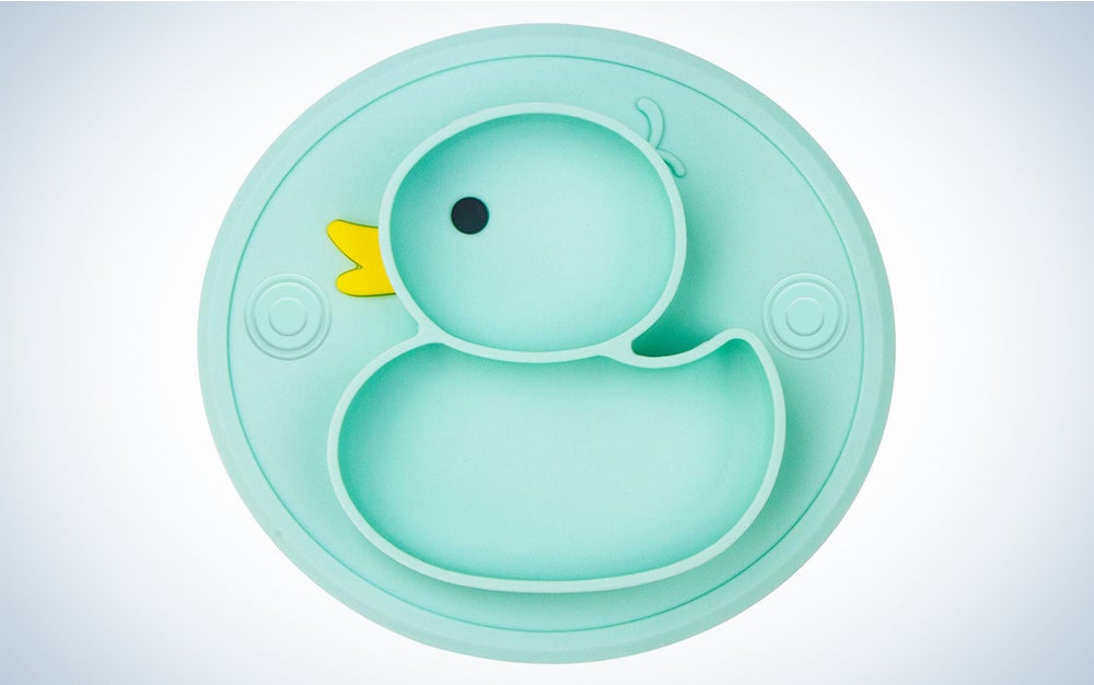 NOVOS Silicone Divided Toddler Baby Plates