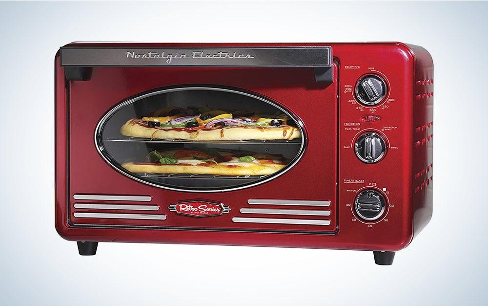 Nostalgia Multi-Functioning Retro Convection Toaster