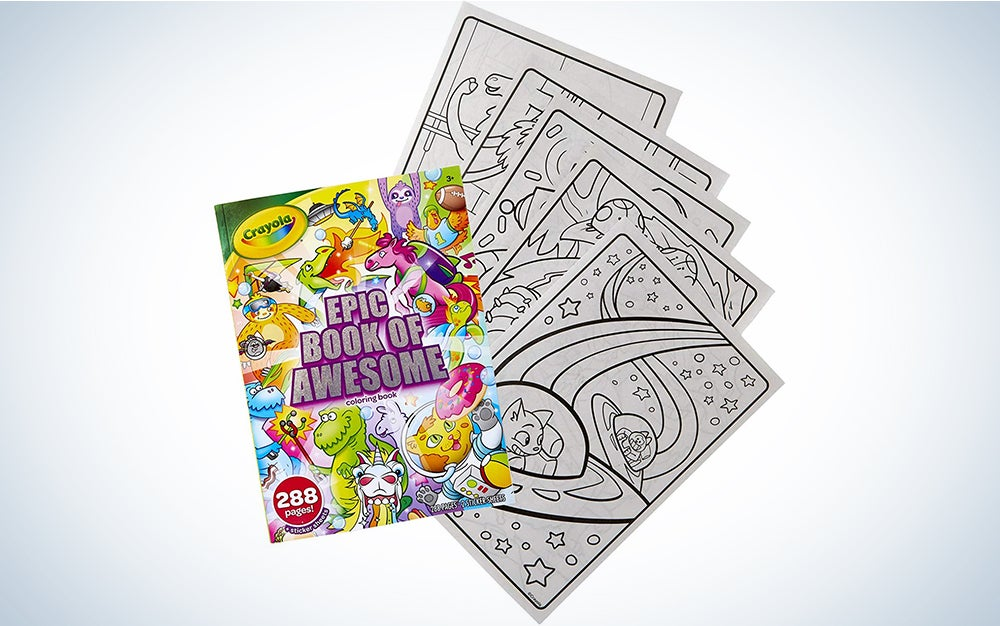 Crayola's Epic Book of Awesome