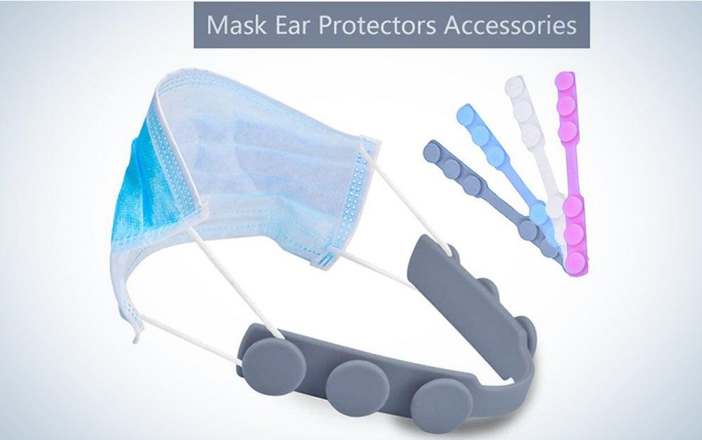 EVGLOW Mask Strap Extender,Anti-Tightening Mask Holder Hook Ear Strap