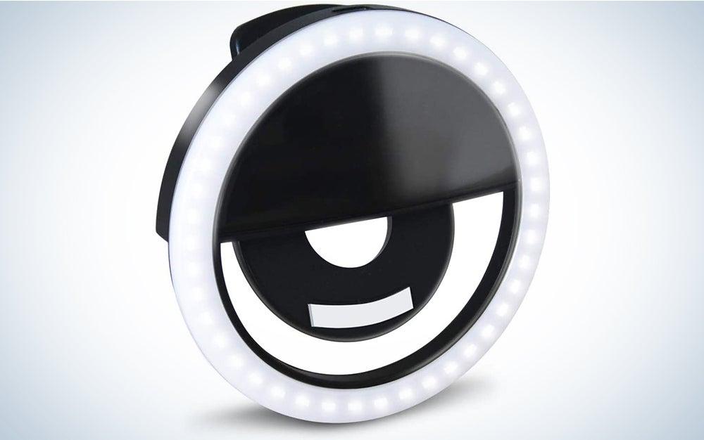 GLOUE Selfie Light Ring Led Circle Clip-on