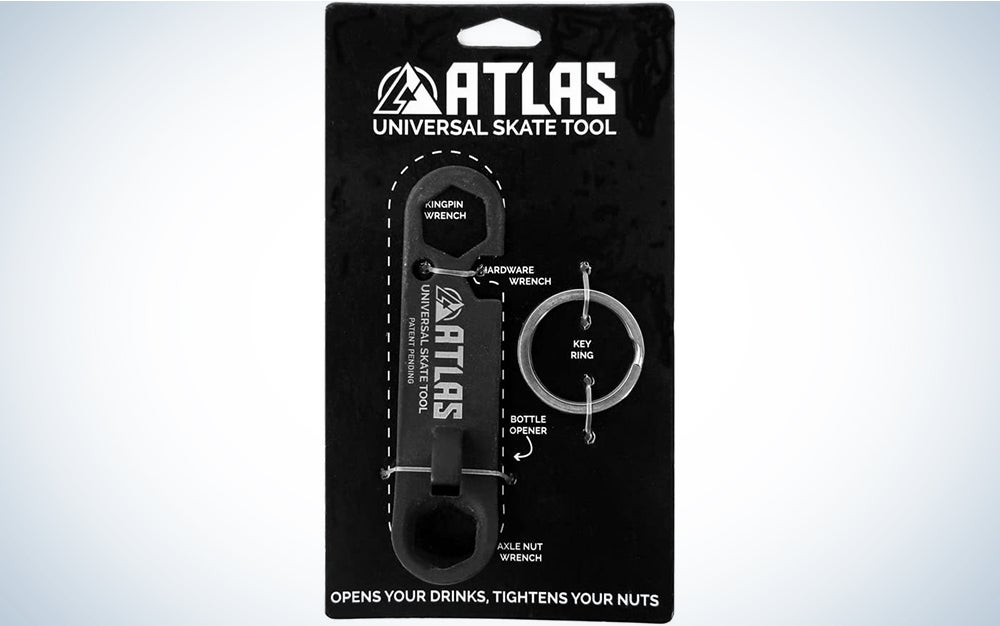 Atlas Truck Co. Keychain Bottle Opener and Universal Skateboard Tool