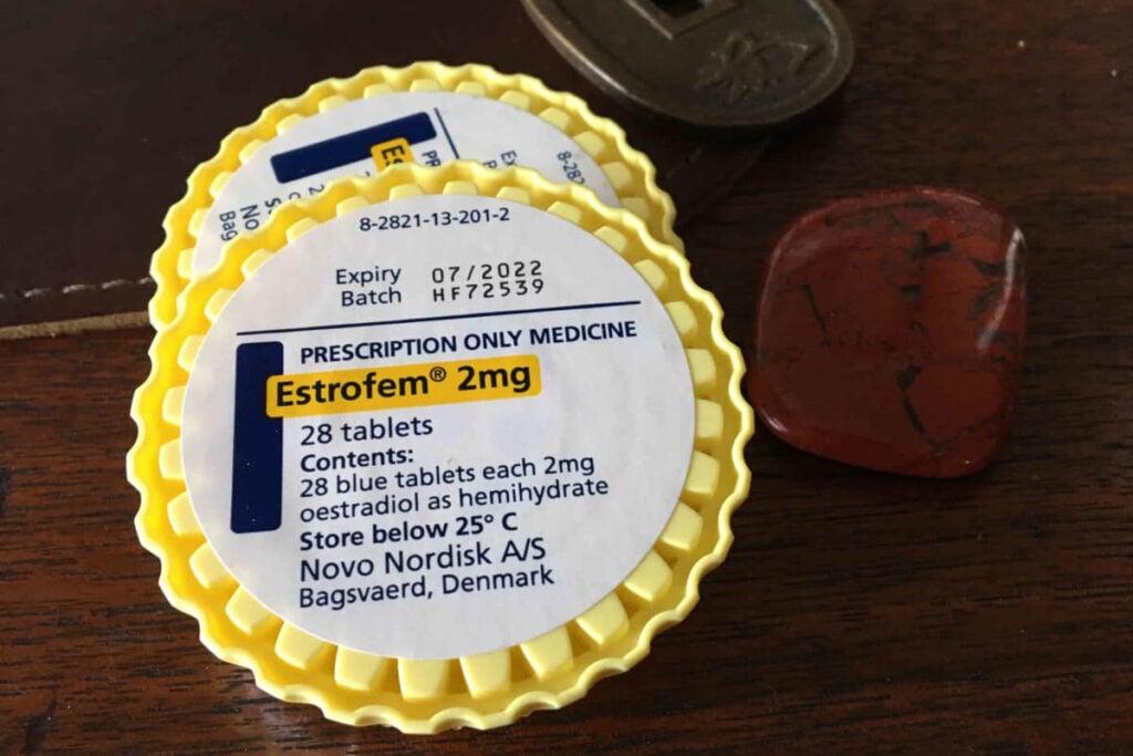Prescription estrogen tablets