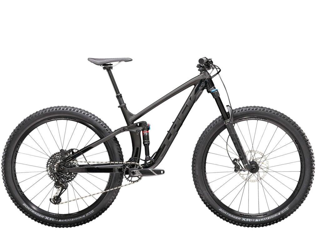 Trek Fuel EX mountain bike.