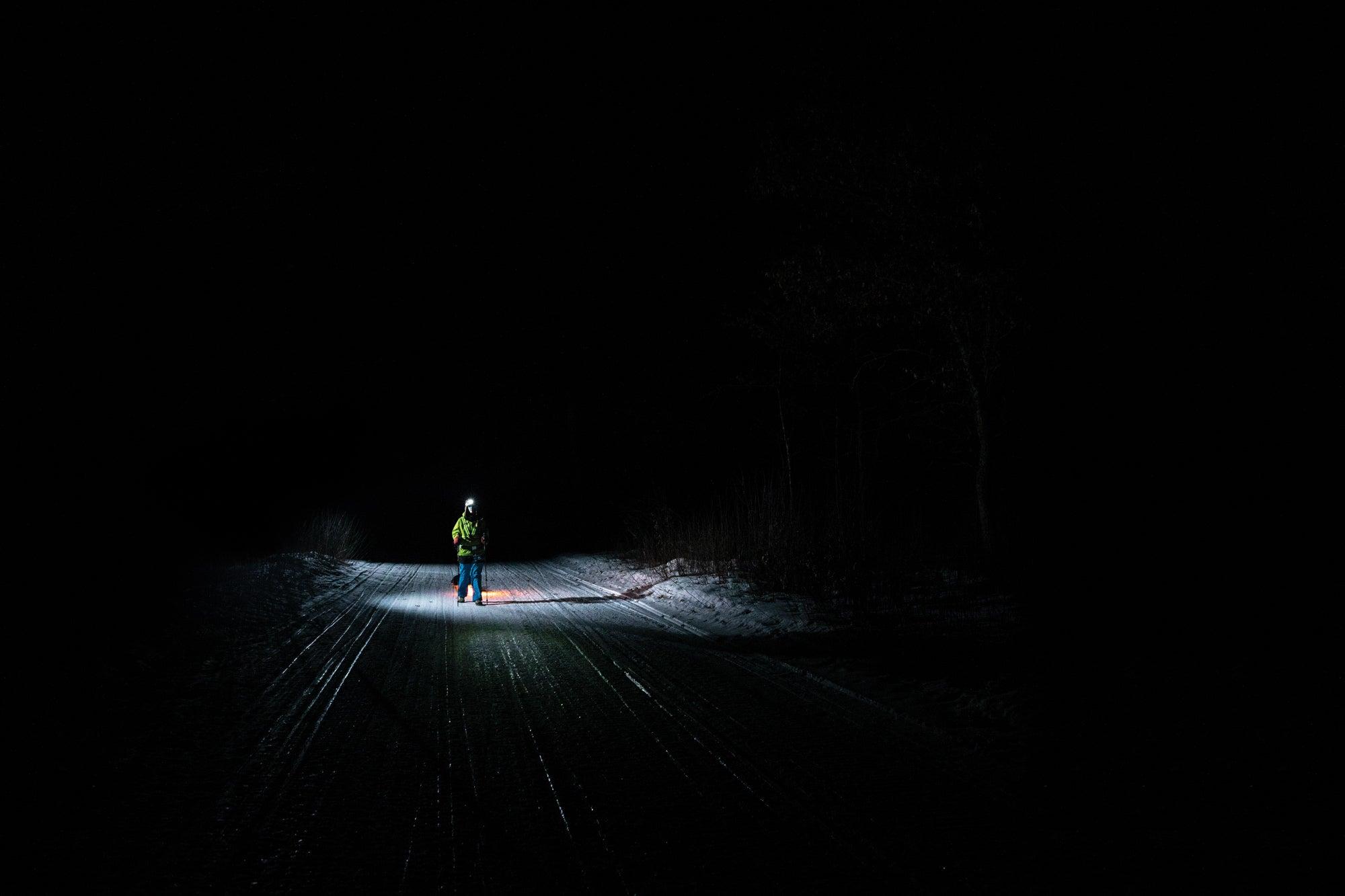 winter ultramarathon
