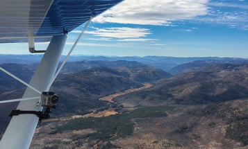 Flying over mountains isn't as scary (or hard) as you might think