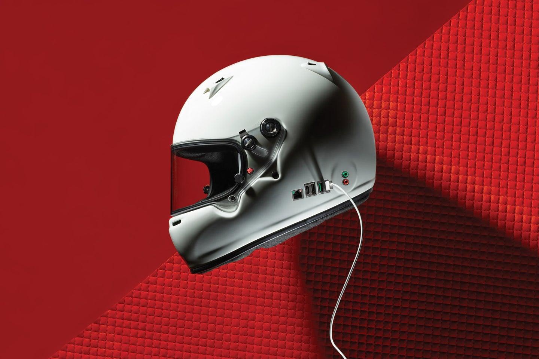 racing helmet