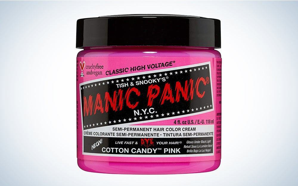 Manic Panic Cotton Candy Pink Hair Dye
