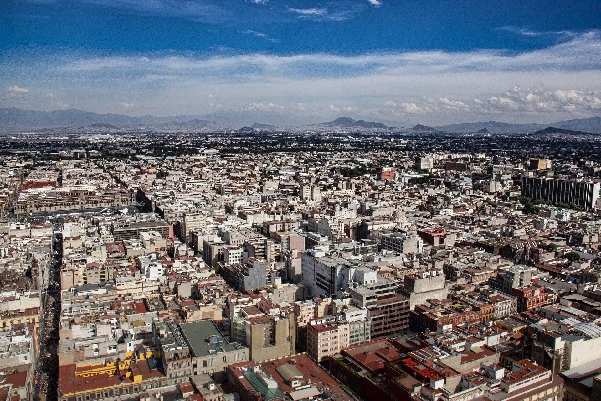 The Mexico City landscape
