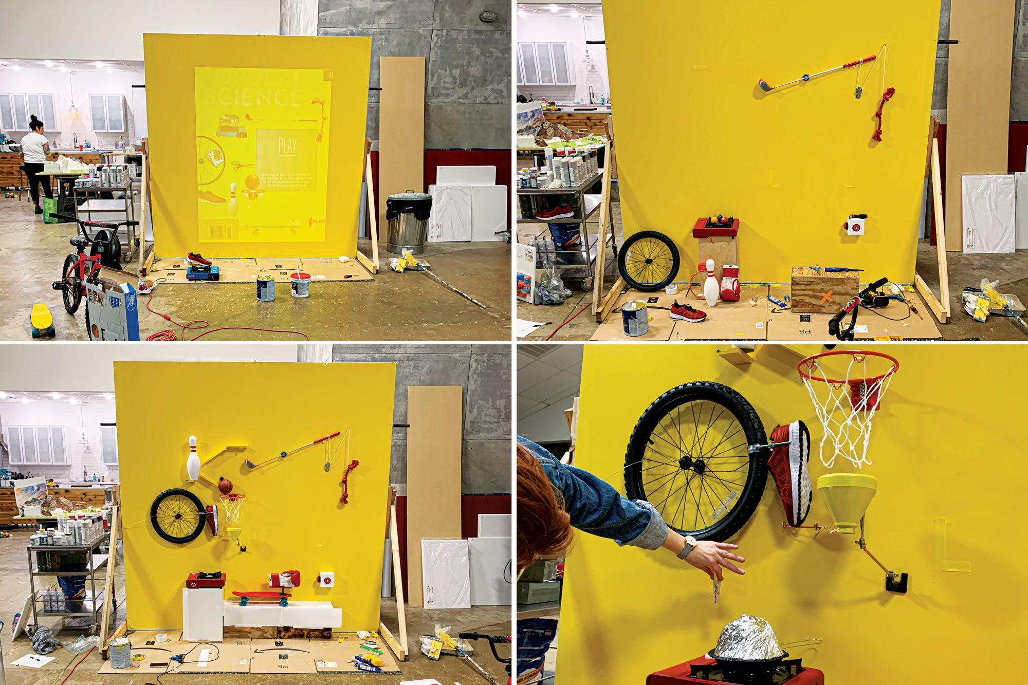 PopSci Rube Goldberg machine