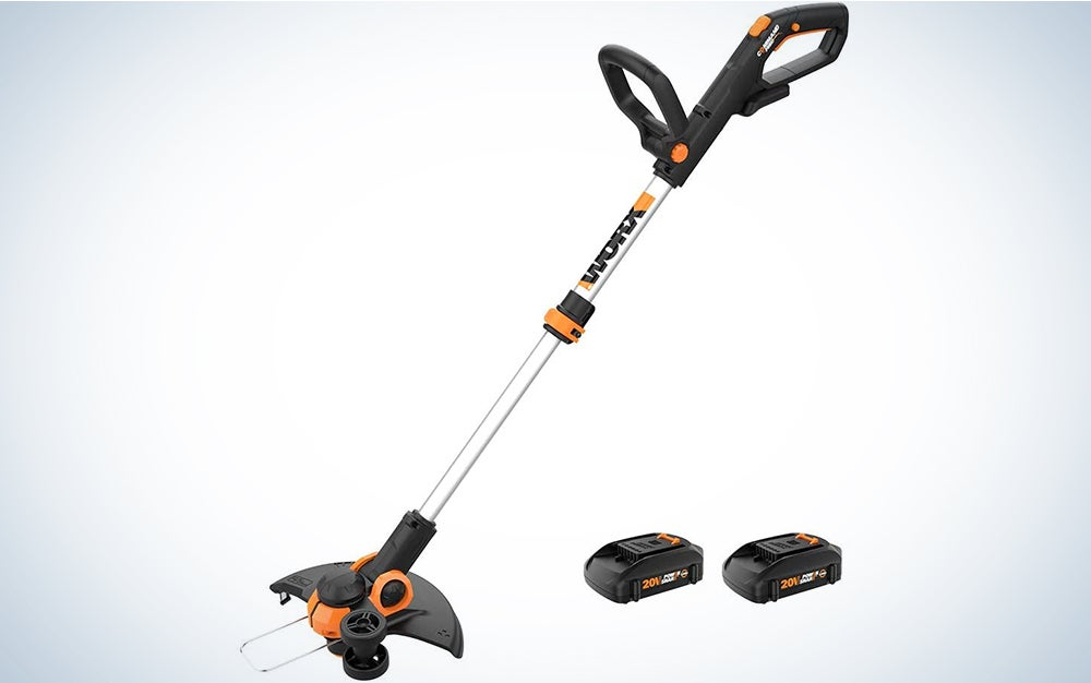 Worx WG163 GT 3.0 20V PowerShare 12″ Cordless String Trimmer & Edger