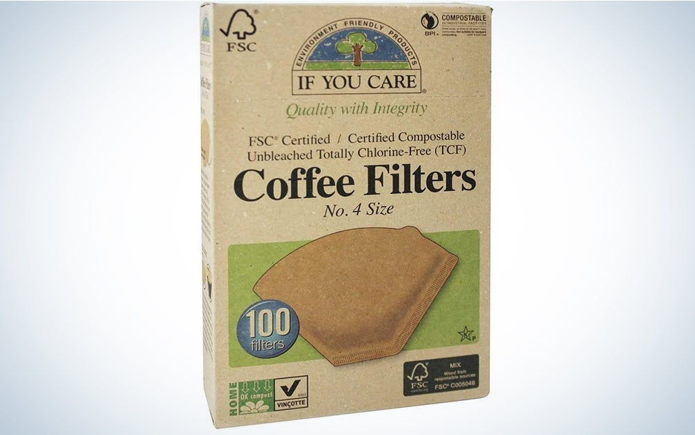 If You Care, Coffee Filters No. 4, 100 Count