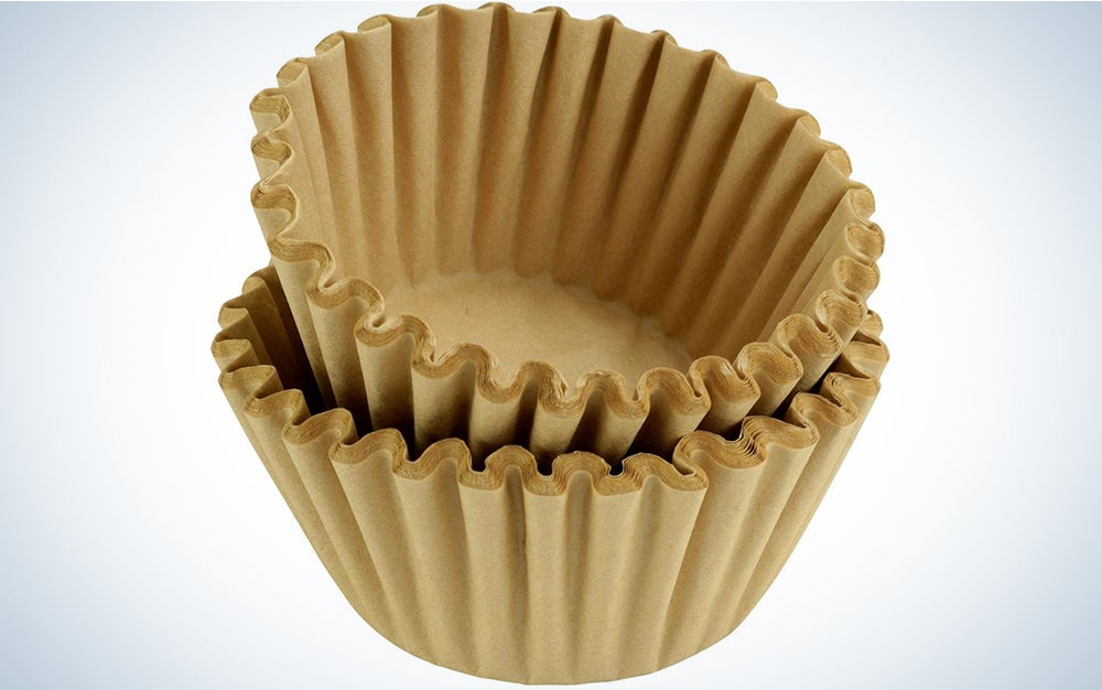 Rupert and Jeoffrey's Trading Co. 8-12 Cup Basket Coffee Filters (Natural, 500)