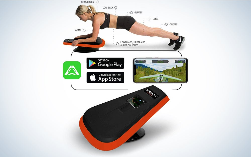 Stealth Core Trainer - Get a Lean Strong Core Playing Games On Your Phone; Free iOS/Android App; 4 Free Mobile Games Included; Dynamic Core Training; Increase Energy & Lose Body Fat in 3 Min/Day