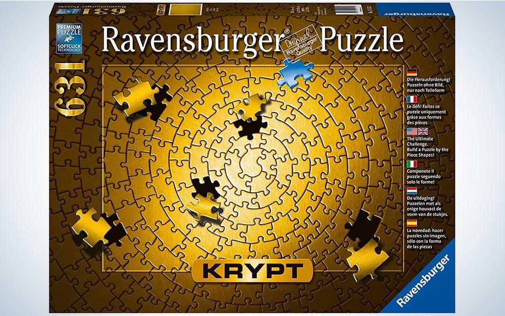 Ravensburger Krypt Puzzle Gold